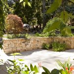 Landscaped Frontyard with Outdoor Lighting
