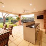 Outdoor kitchen JKB services Pegola