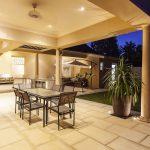 Outdoor kitchen SA Outdoor Lighting