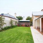 Landscaped backyard JKB Services