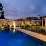 Landscaped backyard, Alfresco outdoor room