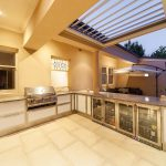 Outdoor living area Landscaping Outdoor Kitchen